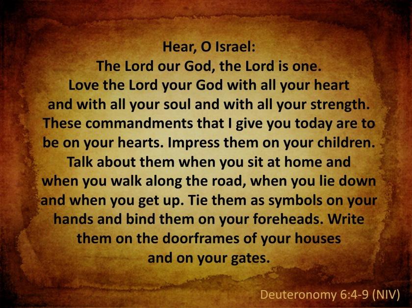 deut 6 4-9